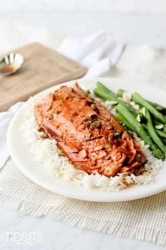 Pressure Cooker Sweet Teriyaki Salmon