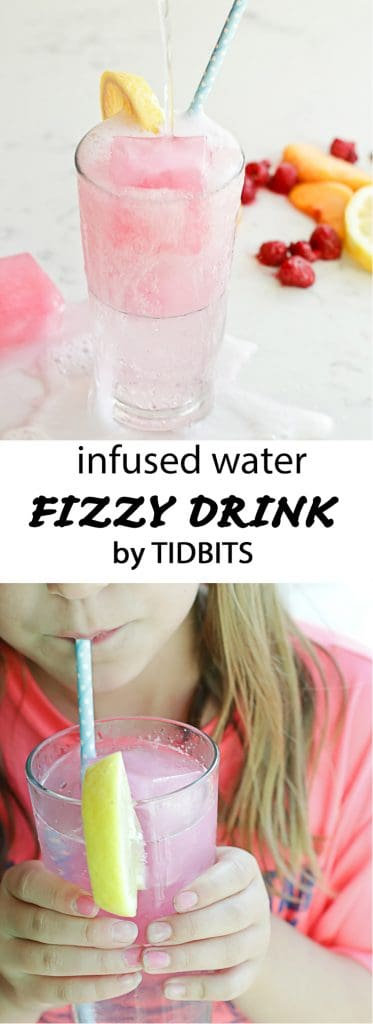Fizzy Drink: Make infused water more fun with fizz!