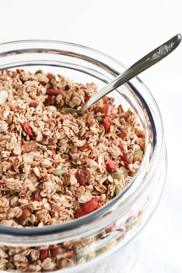 Healthy, Wholesome Granola
