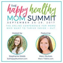 The Happy Healthy Mom Summit + Cookbook Giveaway Announcement!