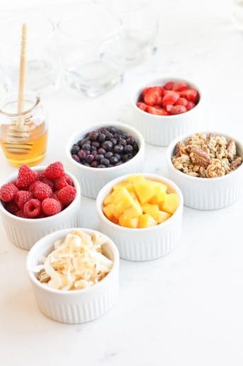 Instant Pot Yogurt Parfait Bar