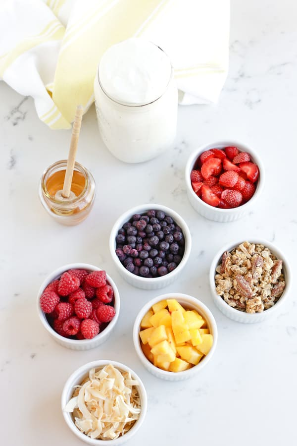 Instant Pot Yogurt Parfait is as delicious as it is gorgeous!