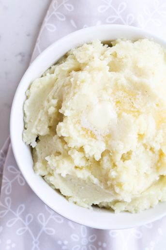 Pressure Cooker Mashed Potatoes – no prep version!