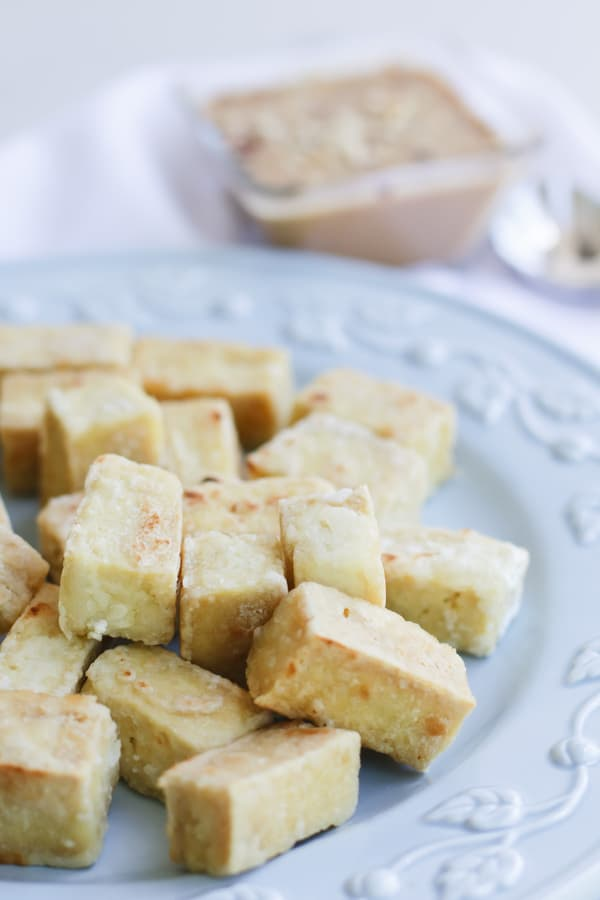 Pressure Cooker Tofu is flavorful, juicy, and tender
