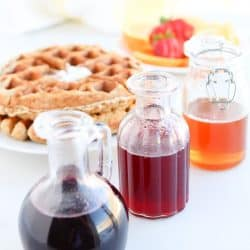 Pressure Cooker Infused Honey Syrup