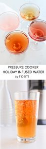 Pressure Cooker Holiday Infused Water is there perfect party beverage!