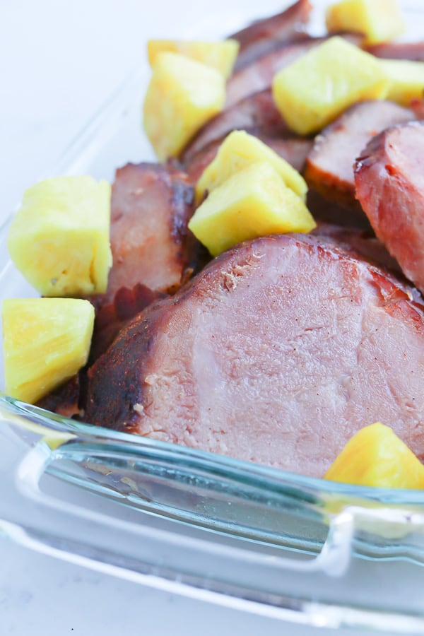 "Pressure Cooker ""Smoked"" Ham is juicy, flavorful, and a breeze to make!"
