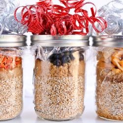 Gift Guide: Pressure Cooker Steel Cut Oats in a Jar