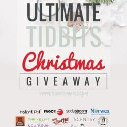 Ultimate TIDBITS Christmas Giveaway plus an Opportunity to Give