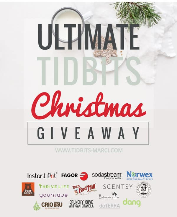 Ultimate Tidbits Christmas Giveaway