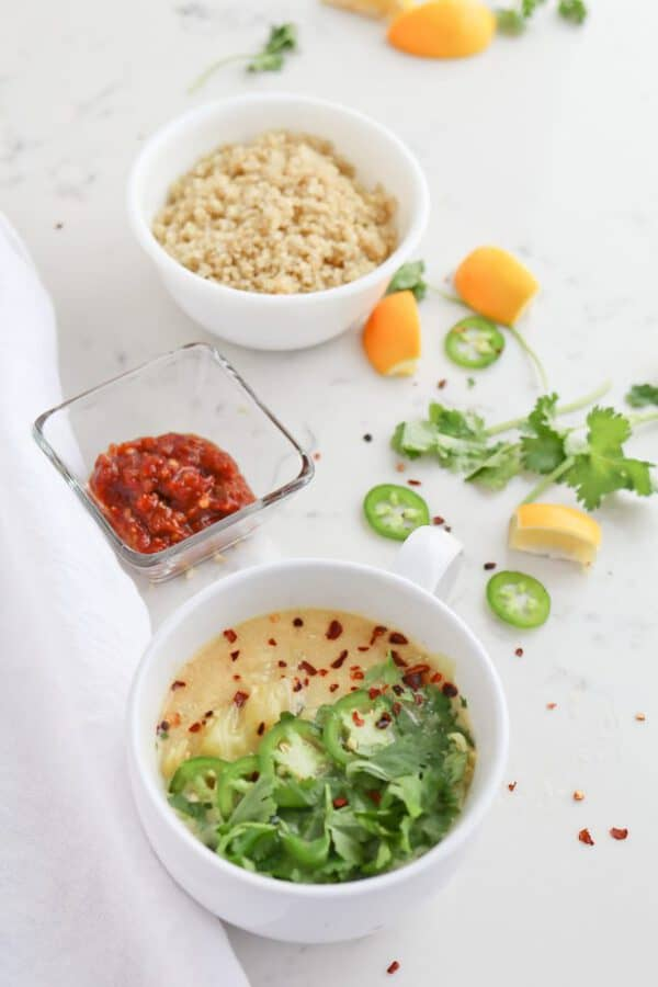 Pressure Cooker Soul Soothing Coconut Cabbage Soup is a warm, calming bowl of love