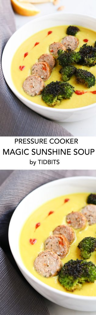 Pressure Cooker Sunshine Soup is like medicine for the soul. So easy, creamy, and rich with flavor