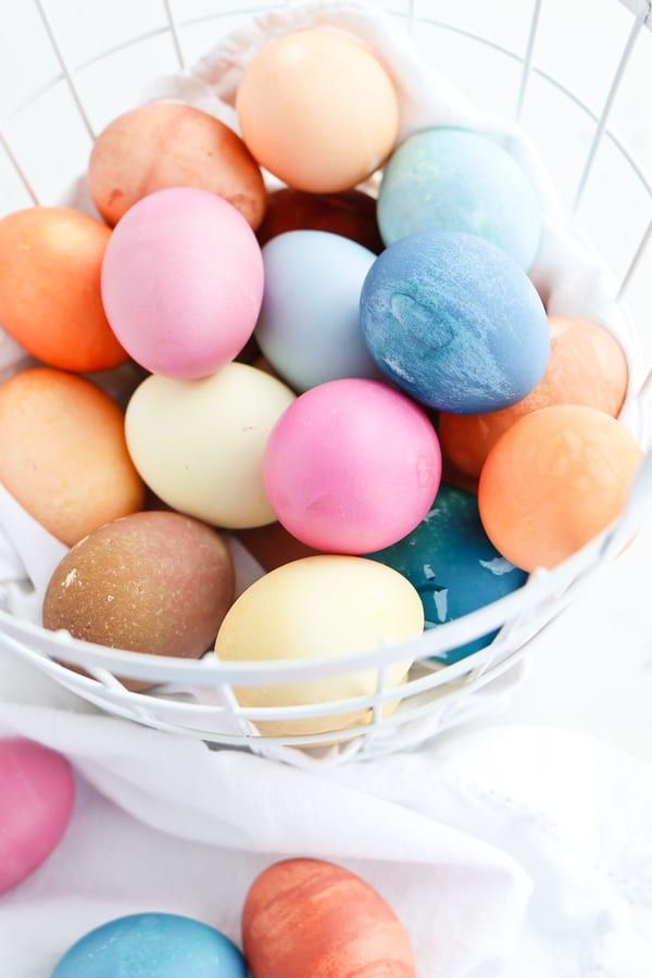 How To Make Natural Easter Egg Dye In The Instant Pot Pressure Cooker