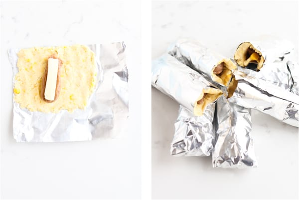 instant pot tamales wrapped in tinfoil