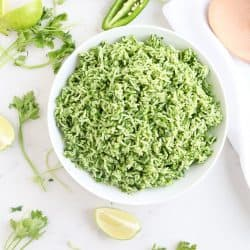 Instant Pot Green Veggie Rice