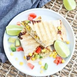 Instant Pot Chipotle Ranch Chicken Panini