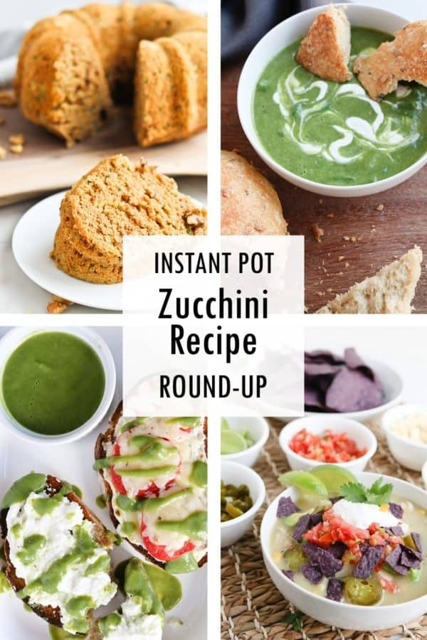Instant Pot zucchini recipe round up