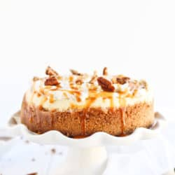 Instant Pot Caramel Apple Cheesecake