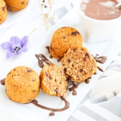 Instant Pot Pumpkin Chocolate Chip Oatmeal Muffins AKA Beebo Bites