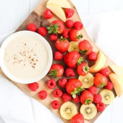 Instant Pot Healthy, Creamy Fruit Dip