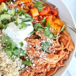 Instant Pot Chipotle Shredded Chicken