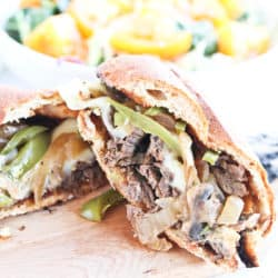 Instant Pot Easy Philly Cheesesteak