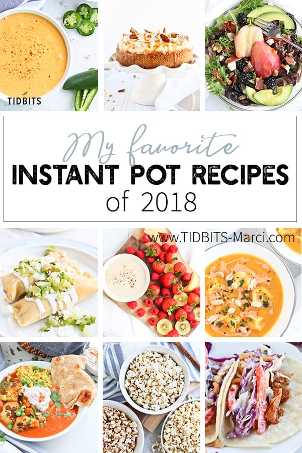 Images of various Instant Pot meals