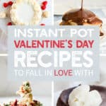Collage of Valentine's Day recipes