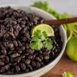 Instant Pot Black Beans – No Soak Method