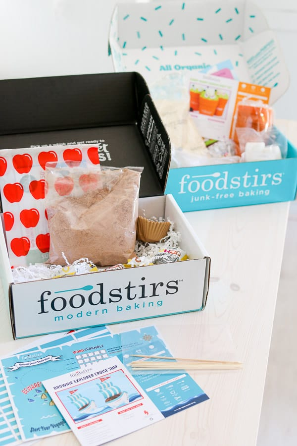 Picture of a Foodstirs cooking subscription box