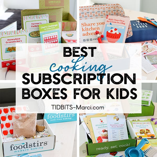 picture of 4 cooking subscription boxes