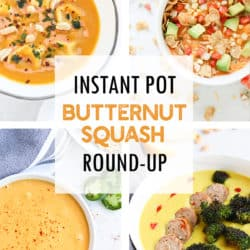 Instant Pot Butternut Squash Recipe Round-Up