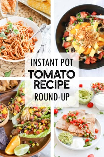 Instant Pot Fresh Tomato Recipe Round Up