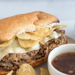 The Ultimate Instant Pot French Dip Sandwich