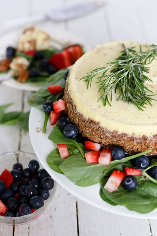 Instant Pot Blue Cheese Cheesecake
