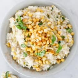 Instant Pot Sweet Corn Risotto