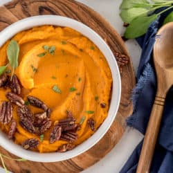 Instant Pot Mashed Sweet Potatoes – Savory Style