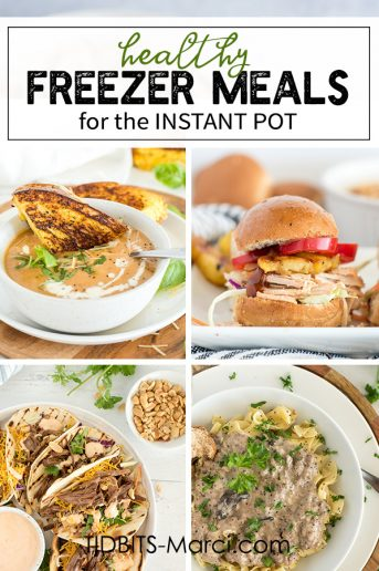 Healthy Freezer Meals for the Instant Pot